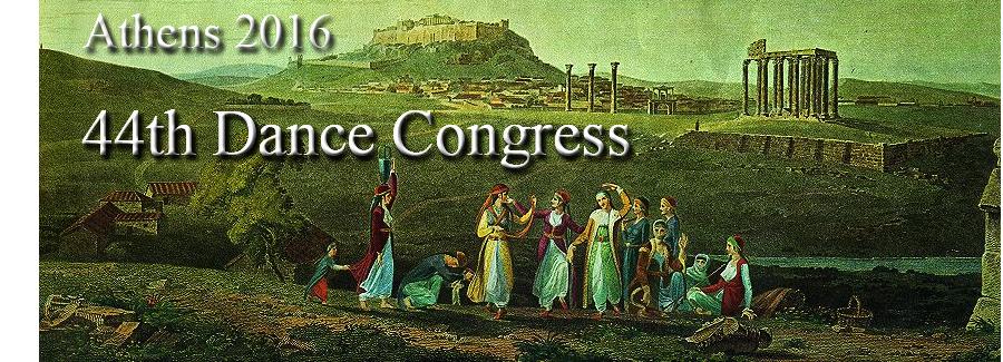 44th Dance Congress, Athens 2016